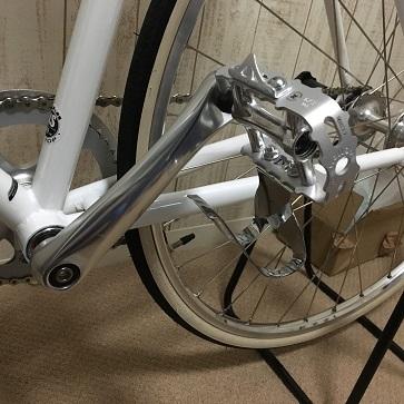 クロスバイクのペダル