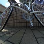 リコーのシータ(RICOH theta SC)で自転車を撮ってみる
